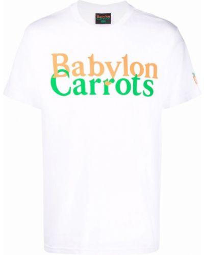 Biała t-shirt krótki rękaw Carrots