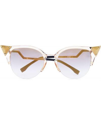 Солнцезащитные очки с градиентом кошачий глаз Fendi (sunglasses)