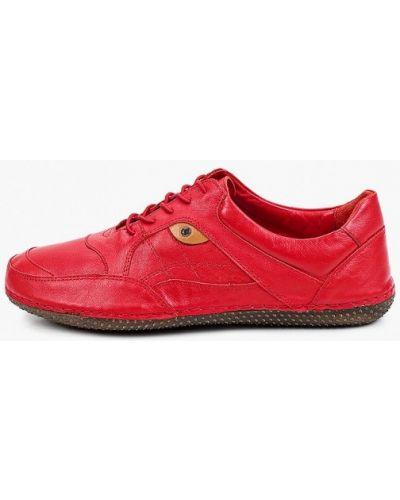 Красные зимние кроссовки Shoiberg