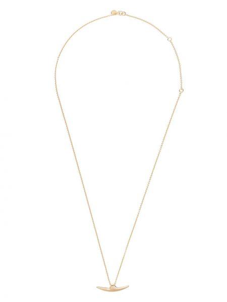 Złoty naszyjnik łańcuch - żółty Shaun Leane