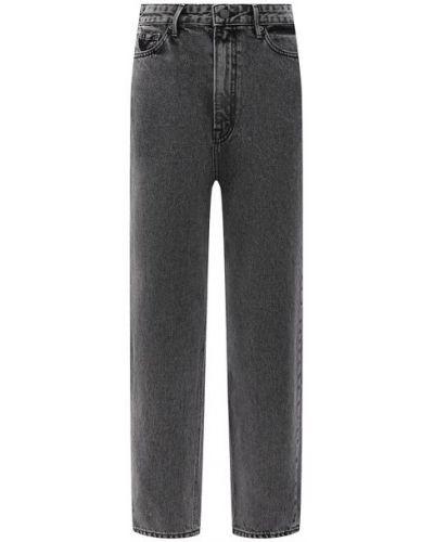 Хлопковые серые джинсы Grlfrnd