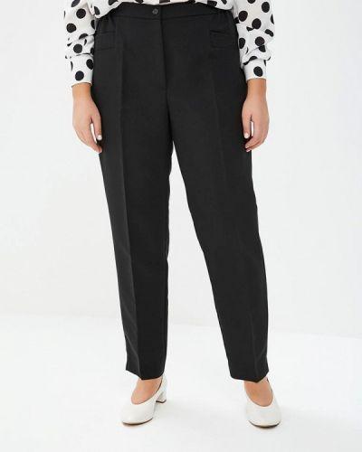 Черные классические брюки с карманами Intikoma