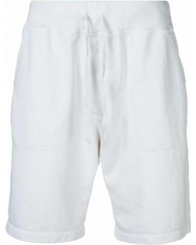 Спортивные шорты с карманами белые Save Khaki United