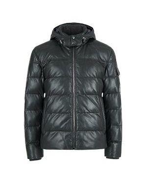 Кожаная куртка черная Strellson