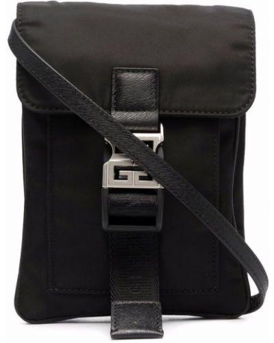 Черная сумка с логотипом Givenchy