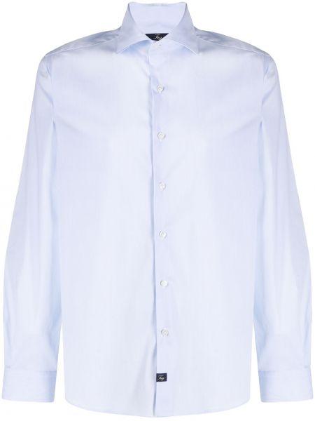 Koszula z długim rękawem prosto długa Fay