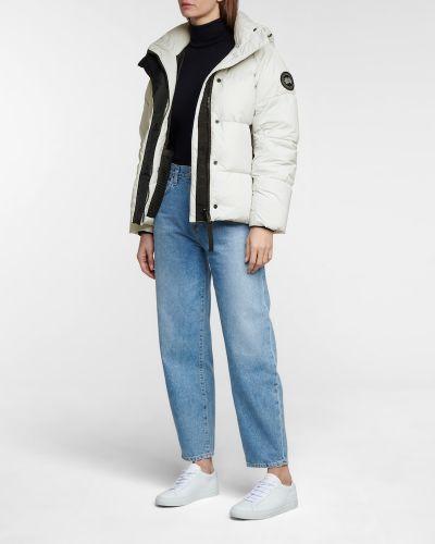 Пуховая черная куртка Canada Goose