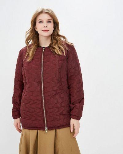 Утепленная куртка - красная Jp