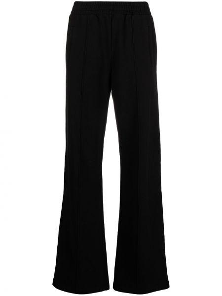 Широкие брюки - черные Golden Goose