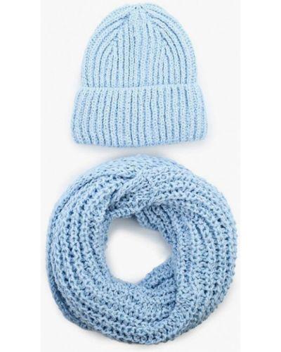 Голубая шапка осенняя Fete