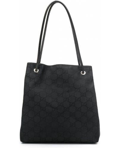 Сумка-тоут черная Gucci Vintage