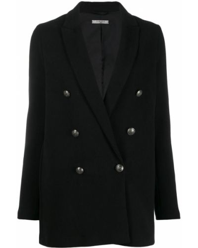 Черный удлиненный пиджак Circolo 1901