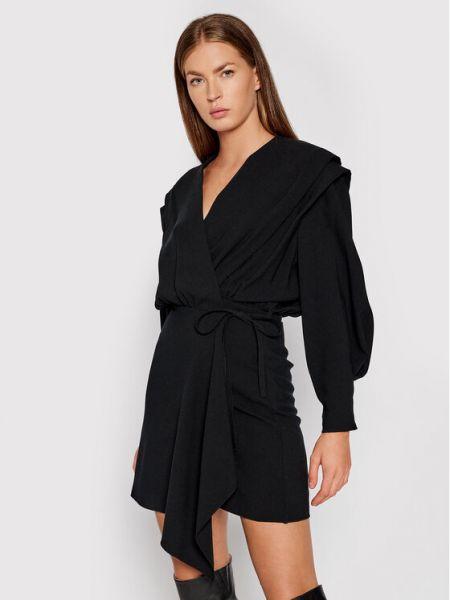 Czarna sukienka casual Iro