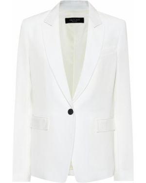 Пиджак белый для офиса Rag & Bone