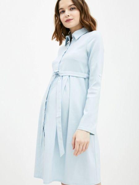 Платье - голубое 9месяцев 9дней