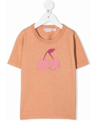 Różowa t-shirt Bonpoint