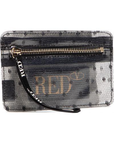 Czarny portfel Red Valentino