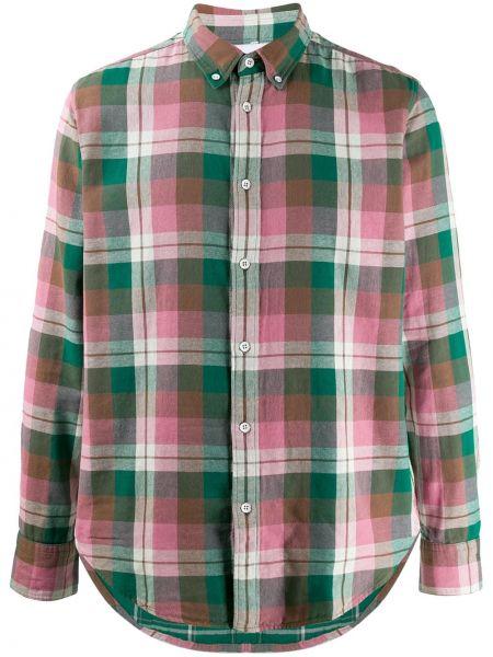 Koszula z printem - zielona Rag & Bone