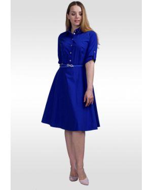 Платье на пуговицах на молнии Lila Classic Style