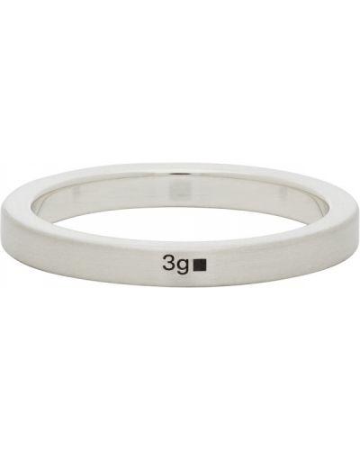 Srebro pierścień Le Gramme