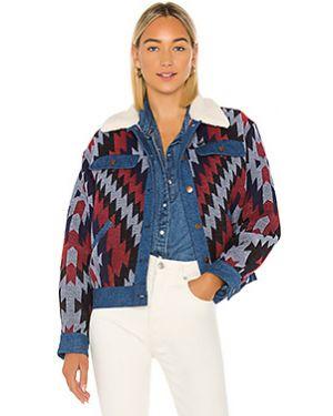 Кожаная куртка на пуговицах с карманами Wrangler