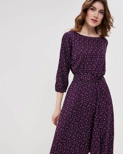 Платье осеннее фиолетовый Maria Rybalchenko