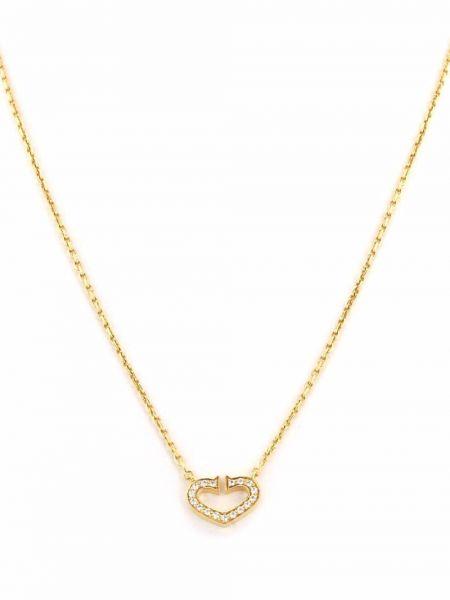 Żółty złoty naszyjnik Cartier
