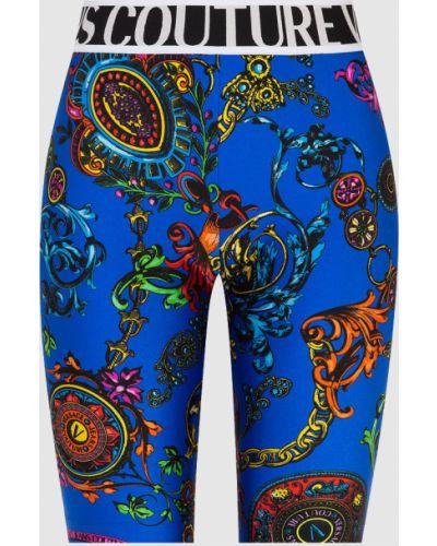 Джинсовые шорты - синие Versace Jeans Couture