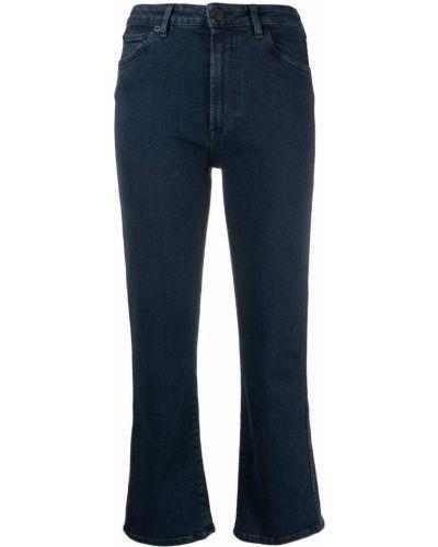 Синие джинсы на молнии 3x1