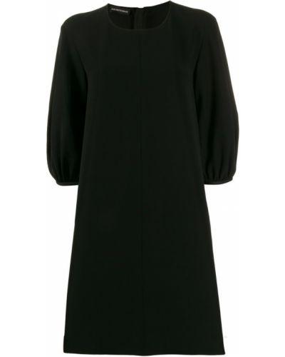 Платье мини - черное Ea7 Emporio Armani
