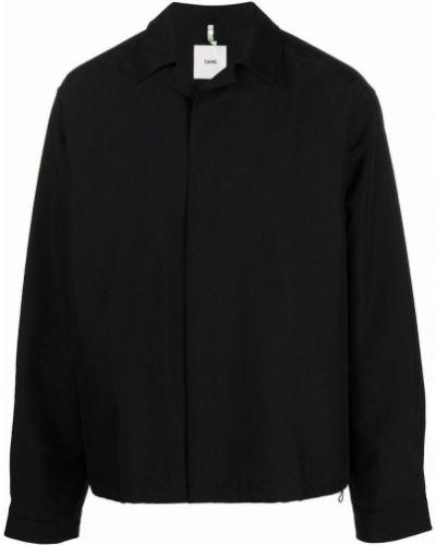 Czarna koszula bawełniana Oamc