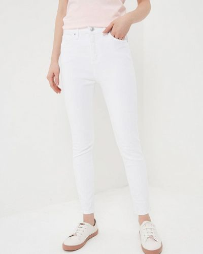 Белые джинсы-скинни Topshop