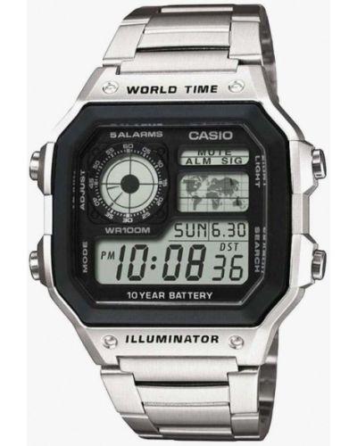 Серые часы Casio