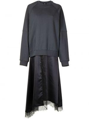 Платье макси длинное - синее Goen.j