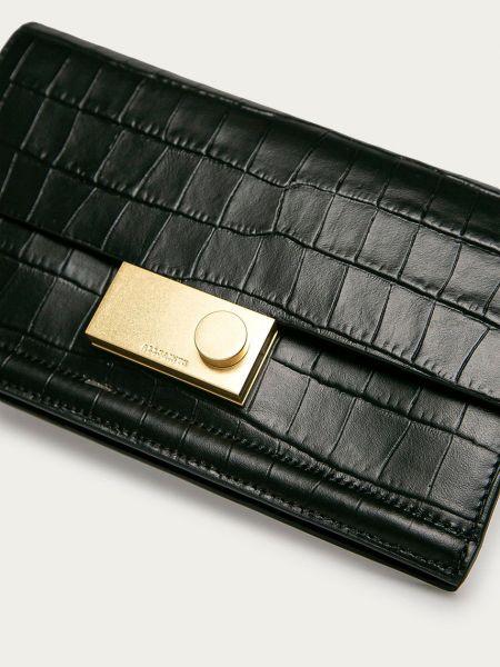 Кожаный кошелек Allsaints