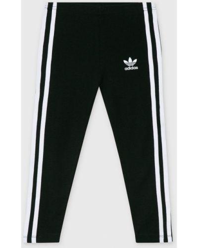 Брюки эластичные черные Adidas Originals