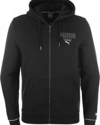 Джемпер на молнии с капюшоном классический Puma
