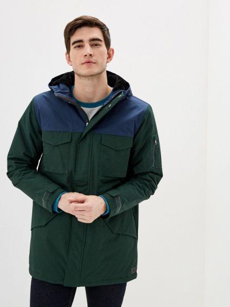 Утепленная куртка - зеленая Vans