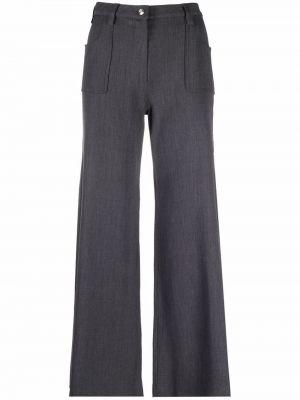Spodnie z paskiem Christian Dior