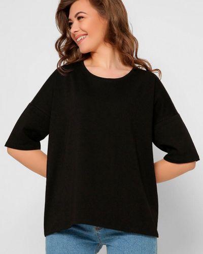 Черная футболка с короткими рукавами Carica&x-woyz