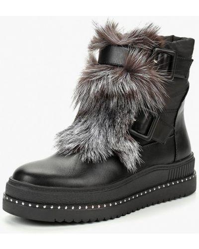 Кожаные ботинки осенние Grand Style