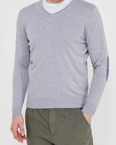 Серый пуловер Springfield