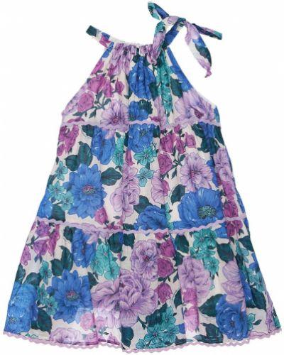 Sukienka bawełniana z printem Zimmermann