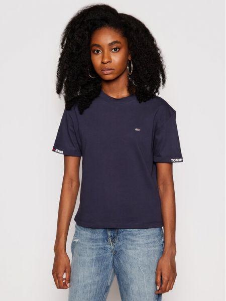 T-shirt - granatowa Tommy Jeans