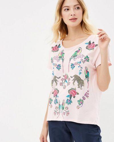 Розовая футболка индийская Zarina