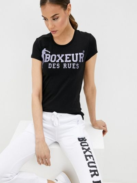 Футболка - черная Boxeur Des Rues