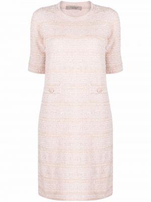Платье из альпаки - розовое D.exterior
