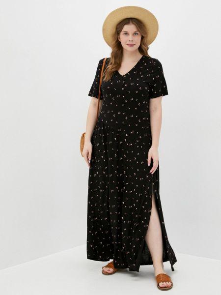 Черное повседневное платье Griol