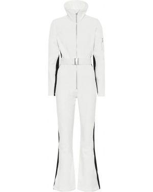 Biały garnitur vintage rozkloszowany Cordova