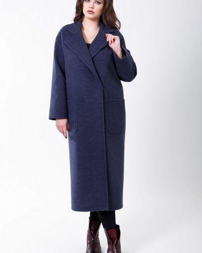 Синее пальто весеннее Sergio Cotti